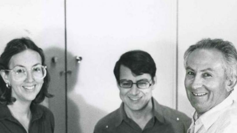Profs. Bezalel Narkiss and Shalom Sabar